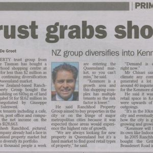 Trust grabs shops